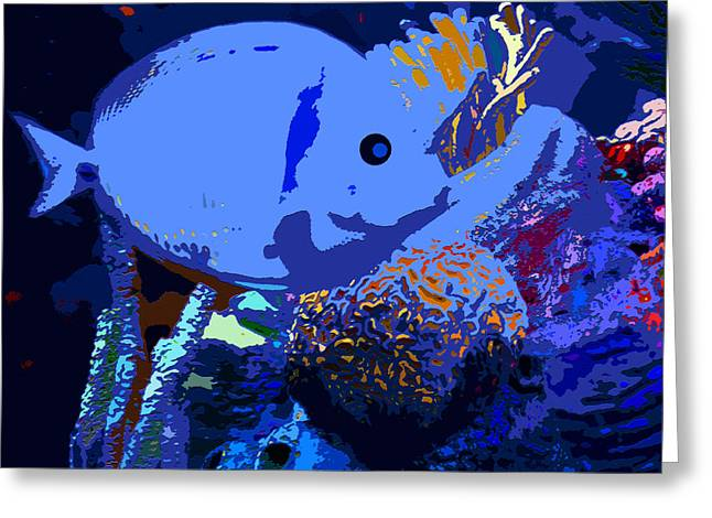 Tropical Reef Greeting Card by David Lee Thompson