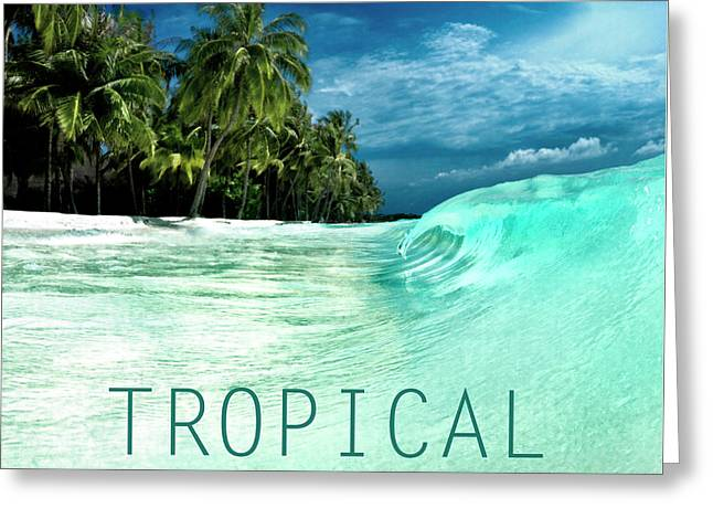 Tropical. Greeting Card