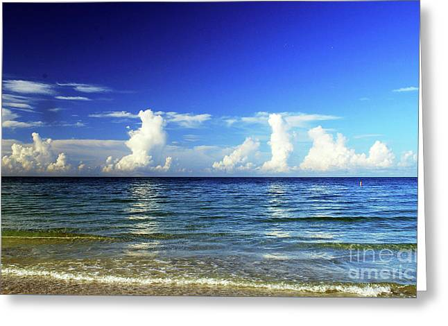 Greeting Card featuring the photograph Tropical Storm Brewing by Gary Wonning
