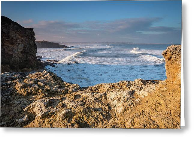 Trow Point At South Shields Greeting Card by David Head