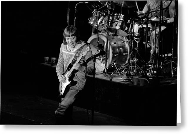 Trower At Winterland Greeting Card by Ben Upham