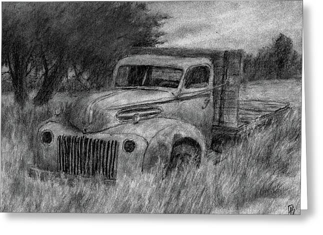 Truck Study I Greeting Card by David King