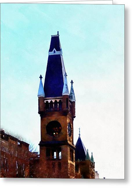 Greeting Card featuring the photograph True Colors - Scranton by Janine Riley