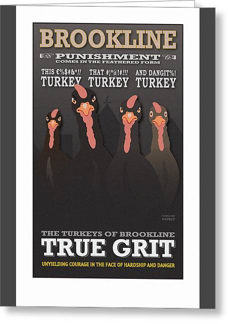 True Grit Greeting Card
