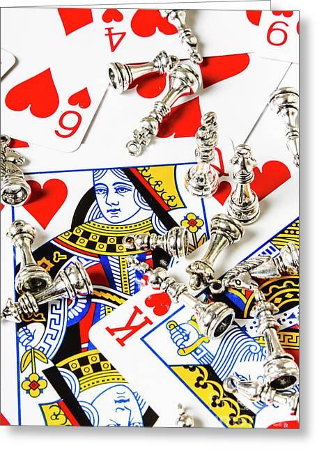 True Love Reigns Supreme Greeting Card