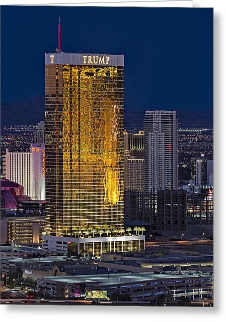 Trump International Hotel Las Vegas Greeting Card
