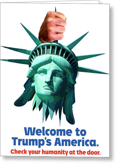 Trump's America Greeting Card