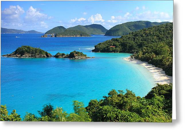 Trunk Bay St. John Greeting Card