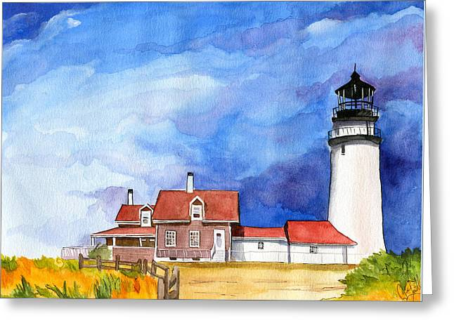 Truro Lighthouse Greeting Card