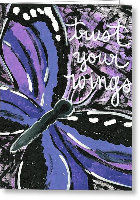 Trust Your Wings Greeting Card