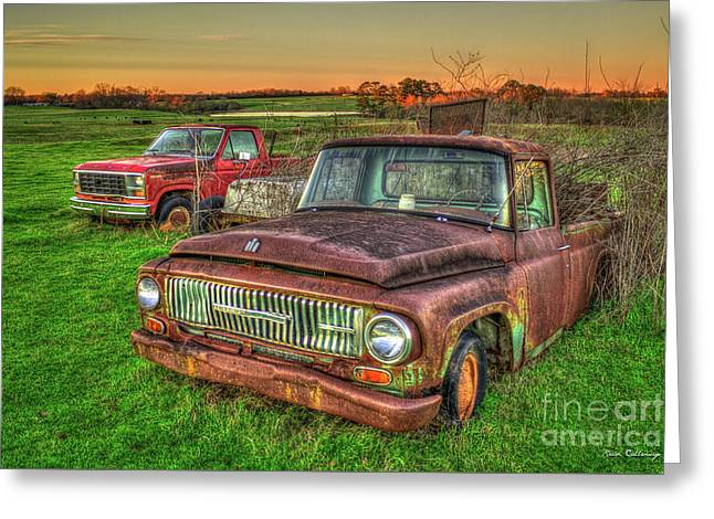 Trusted Old Friend 1965 International Harvester Company Pickup Truck Art  Greeting Card