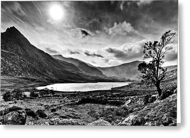Tryfan And Llyn Ogwen Greeting Card