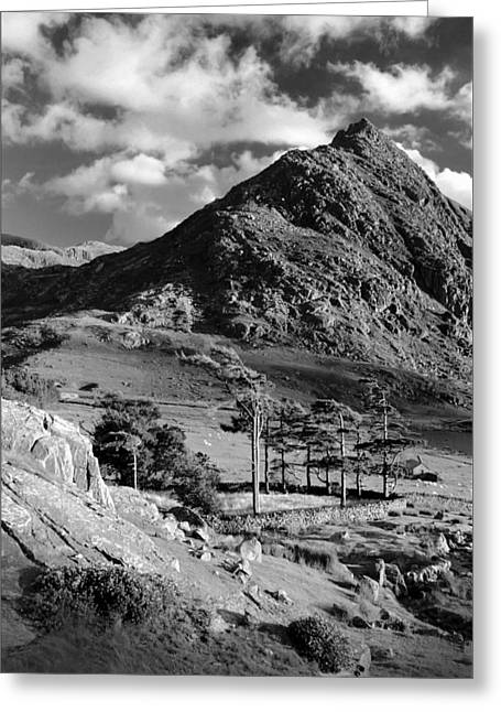 Tryfan And Ogwen Valley Greeting Card