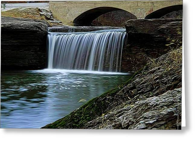 Tryst Falls Greeting Card
