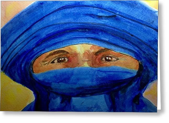 Tuareg Greeting Card