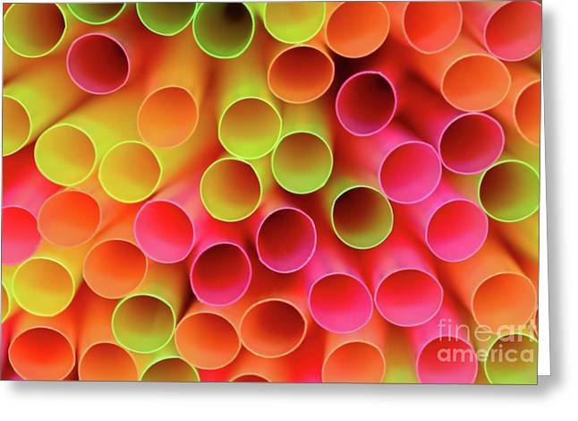 Greeting Card featuring the photograph Tubed By Kaye Menner by Kaye Menner