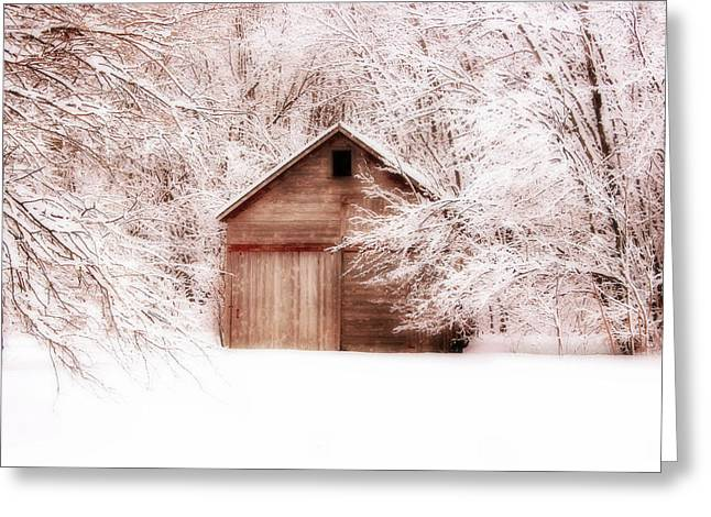 Tucked Away Greeting Card