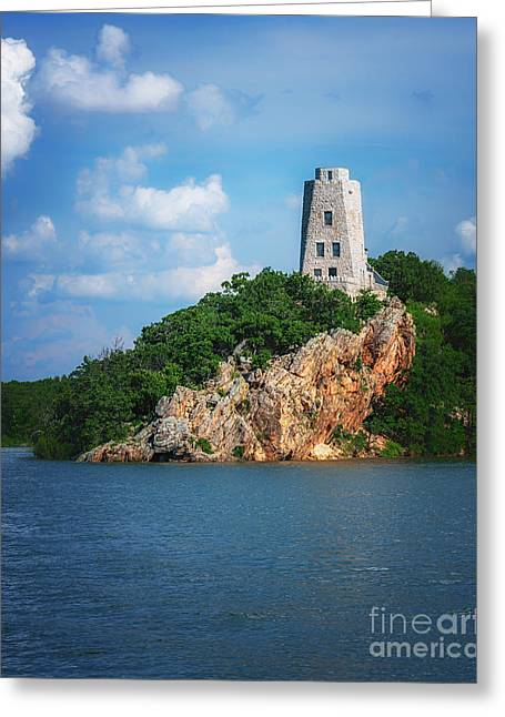 Tucker's Tower Gentle Summer Day Greeting Card