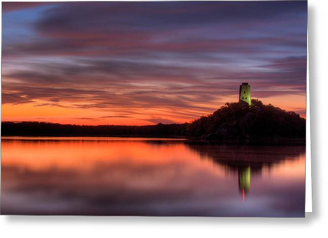 Tuckers Tower Sunrise Greeting Card