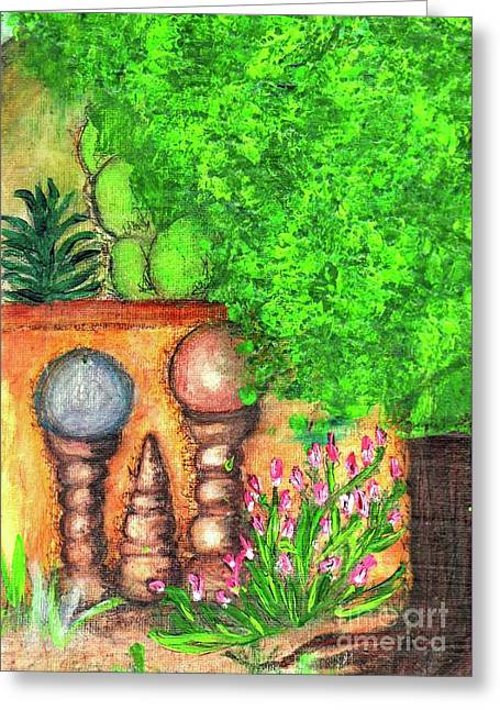 Tucson Garden Greeting Card