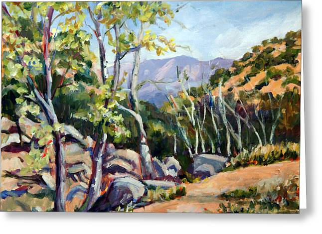 Tucson I Greeting Card by Alexandra Maria Ethlyn Cheshire