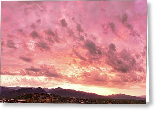 Tucson Sunset 1 Greeting Card by Kayta Kobayashi