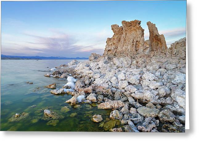Mono Lake - Tufa Greeting Card