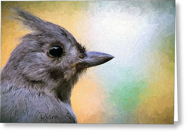 Tufted Titmouse Greeting Card