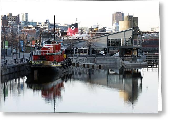 Tugboat 2 Greeting Card