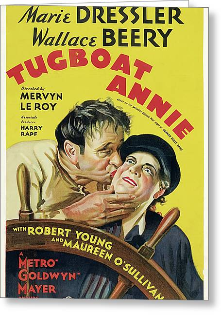Tugboat Annie 1933 Greeting Card