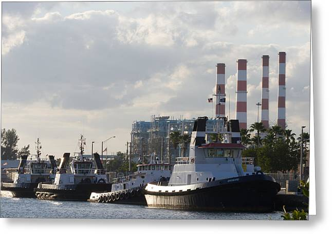 Tugs Greeting Card