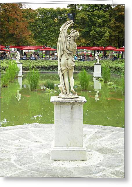 Tuileries Trollop Greeting Card