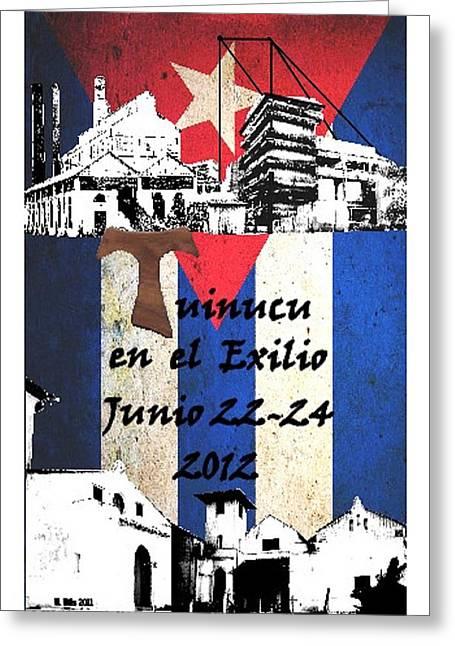 Tuinucu En El Exilio Greeting Card
