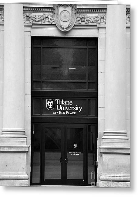 Tulane University Greeting Card by Andrew Dinh