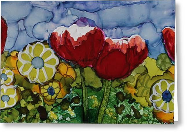 Tulip Bonanza Greeting Card