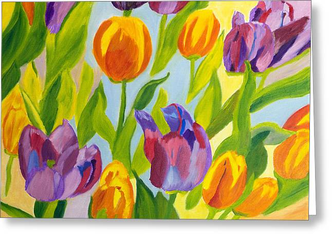Tulip Fest Greeting Card