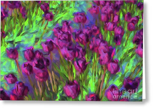 Tulip Perspective Greeting Card