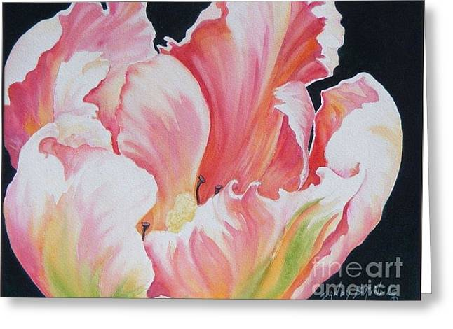 Tulip Sold Greeting Card