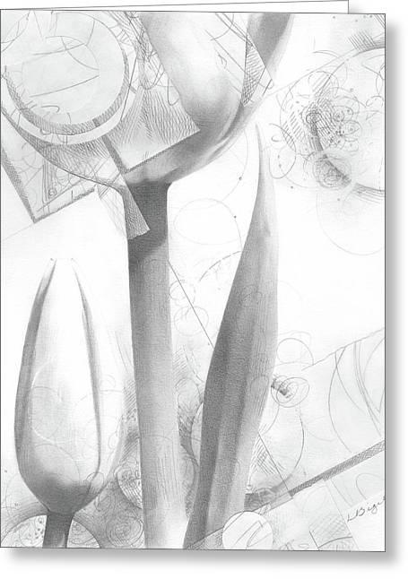 Tulips No. 2 Greeting Card