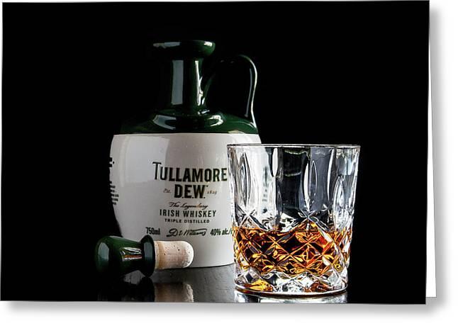 Tullamore D.e.w. Still Life Greeting Card