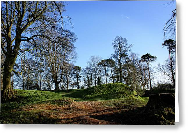 Tullyhogue Fort, Cookstown. Greeting Card
