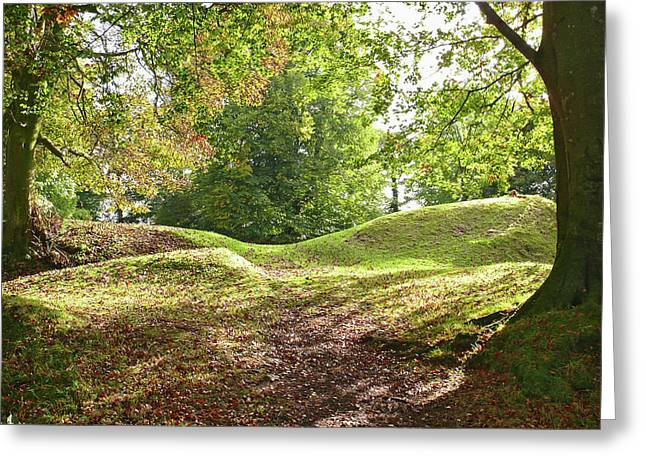 Greeting Card featuring the photograph Tullyhogue Fort by Colin Clarke