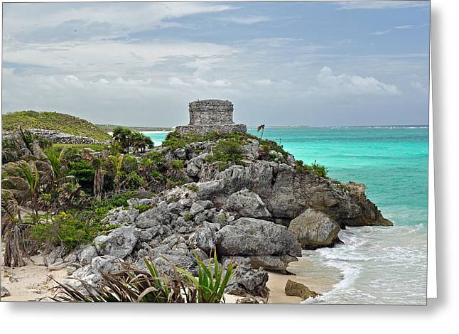 Tulum Mexico Greeting Card