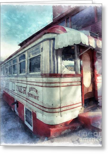 Tumble Inn Diner Claremont New Hampshire Greeting Card