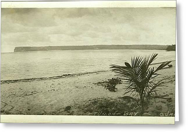 Tumon Bay Guam Greeting Card