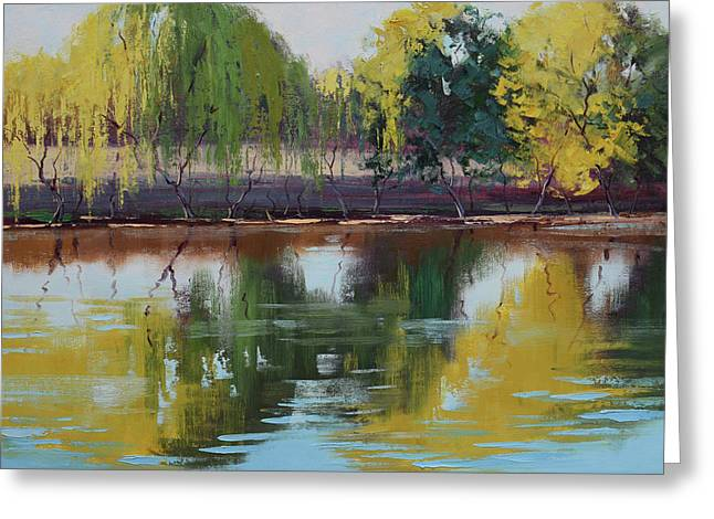 Tumut Reflections Greeting Card