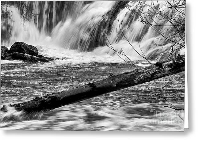 Tumwater Waterfalls#2 Greeting Card
