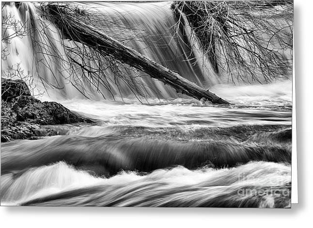Tumwater Waterfalls#3 Greeting Card