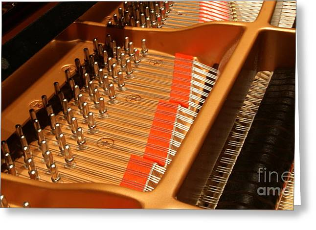 Tuning The Grand..   # Greeting Card by Rob Luzier