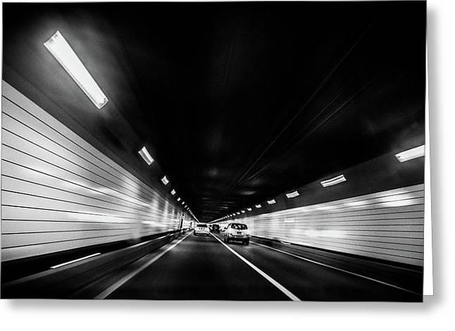 Tunnel Greeting Card